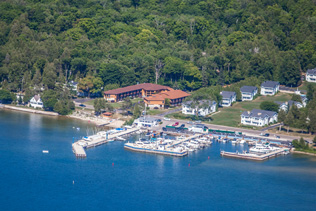 Pine Grove Resort - Aerial View